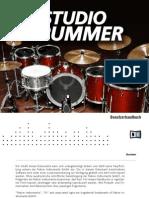 Studio Drummer Manual German