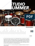 Studio Drummer Manual German