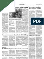 Two arrests announced amid rash of D.C. killings (The Washington Post, Oct. 22, 2011)