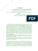 (2 de)     SENTIDO