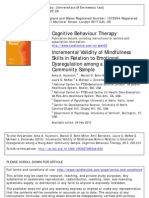 [203-213]Incremental Validity of Mindfulness in Relation to Emotional Dysregulation Among a Young Adult Community Sample