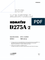 D275A-2 up Shop Manual