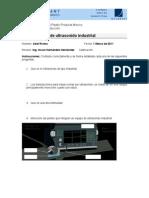 Examen Ultrasonido Industrial