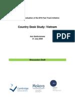 Country Desk Study - Vietnam