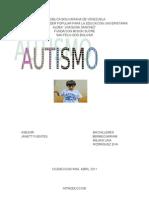 El autismo  8º semestre
