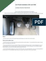 G35 & 350Z Rev2 Clutch Bracket Instructions