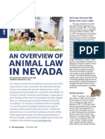 An Overview of Animal Law in Nevada