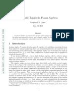 Vaughan F.R. Jones- Quadratic Tangles in Planar Algebras
