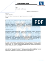 Documentos Para La Auditoria