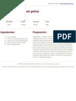 Sabores en Linea I Postres y Recetas fáciles  - Cajetas de leche en polvo - 2011-11-20