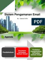 Sistem Pengamanan Email 1 Des 2011
