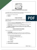 Putting Together Your Communication Studies Portfolio