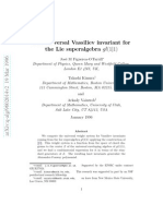 Jose M Figueroa-O'Farrill, Takashi Kimura and Arkady Vaintrob- The universal Vassiliev invariant for the Lie superalgebra gl(1|1)