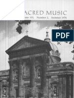 Sacred Music, 103.2, Summer 1976; The Journal of the Church Music Association of America