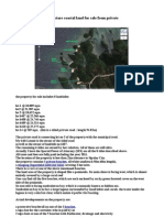 15ha coastal land for sale from private @ sipalay, negros occidental, philippines