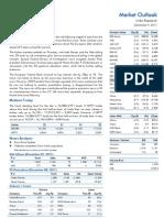 Market Outlook 9th December 2011
