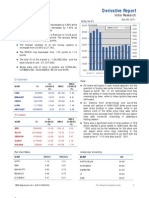 Derivatives Report 9th December 2011
