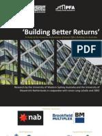 Returns on Green Buildings