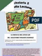 La Esencia Del Lenguaje - Filosofia Wittgensteniana - Alejandro Tomasini Bassols - Pp 17 a 35 - Sccholaris
