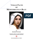 Female Faces of Mediterranean Race