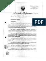 Decreto Agenda Digital Peruana
