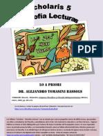 Lo a Priori - Filosofia Wittgensteiniana - Alejandro Tomasini Bassols - Pp 80 a 95 - Scholaris