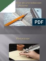 Características de una redacción eficiente