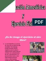 Contaminación Atmosférica y ejercicio fisico