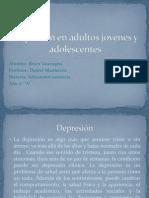 Depresión en adultos jóvenes y adolescentes