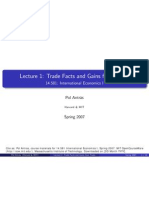 1 Trade Facts and Gains From Trade
