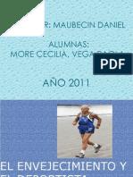 El Envejecimiento y El Deportista Anciano