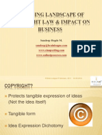 Changing Landscape of Copyright Law & Impact On Business
