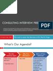 ConsultingInterviewPreparationDr.PaulFriga