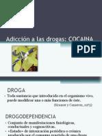 Adicción a las drogas, cocaína