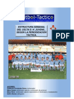 71417859 Microciclo Del Celta Juvenil Periodizacion Tactica