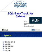 SQL BackTrack