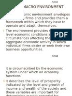 Domestic Macro Environment