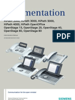 Administration Manual OpenStage 20-80 HFA HP3000-HP5000