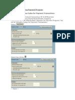 Automatic Payment Program
