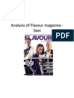 Flavour - Sket Magazine Analysis