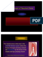 Concept of Neutral Zone
