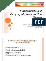 Fundamentals of GIS Estoque