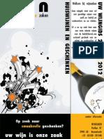 Wijnzaken - geschenkengids 2011/2012