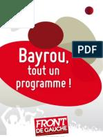 Bayrou 2012