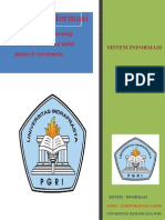 Sistem Informasi Pada Ecommerce Dosen Nahot Frastian S-Kom