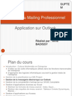 Gestion messagerie