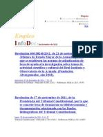 INFODOC - Empleo en Biblioteconomía y Documentación 2011/12/07