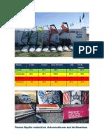 Precios y Material Alquiler 2011-2012