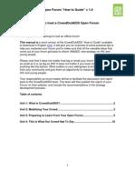 English CrowdOutAIDS Open Forum How-to Guide (short)