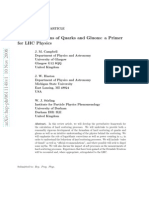 Hard Interactions of Quarks and Gluons a Primer for LHC Physics